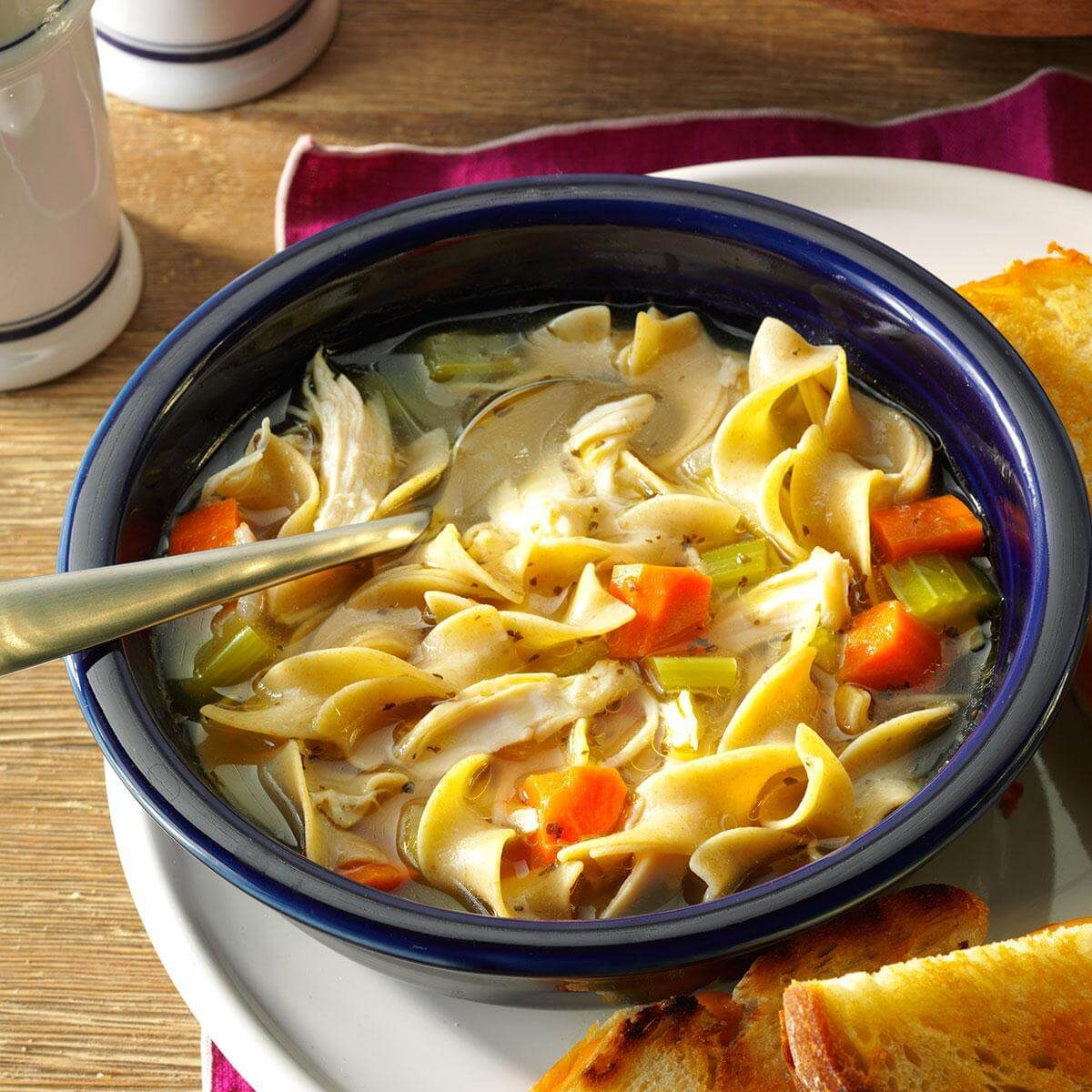 Cold-Day Chicken Noodle Soup