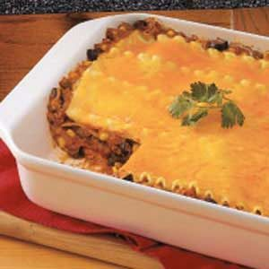 Meaty Chili Lasagna