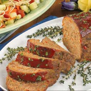Turkey 'N' Beef Loaf