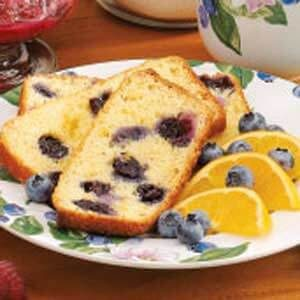 Blueberry-Orange Quick Bread