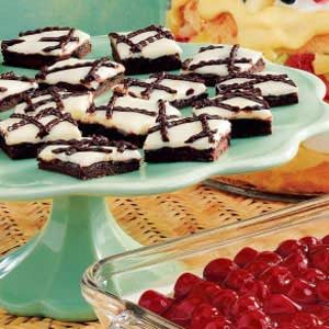 Chocolate Raspberry Bars with Frosting