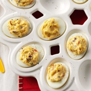 Greek Deviled Eggs