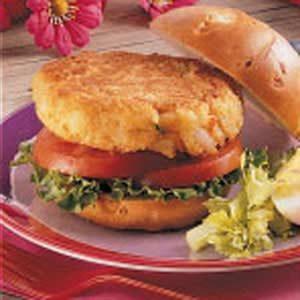 Shrimp Patty Sandwiches