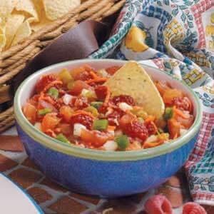 Raspberry Tomato Salsa