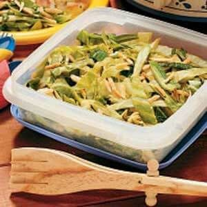 Warm Cabbage Slaw