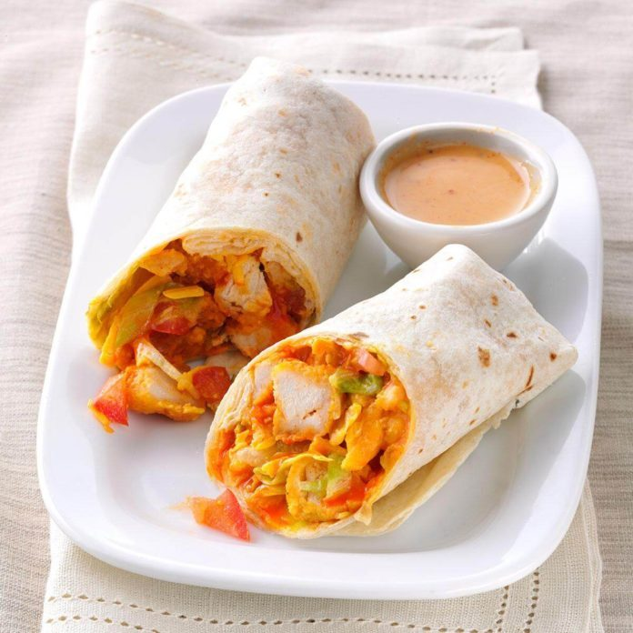 Inspired by: Loaded Chicken Wrap