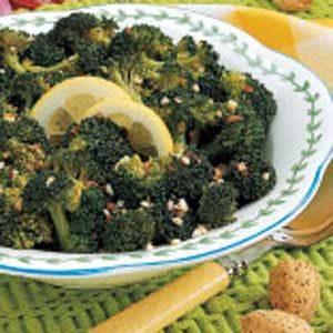 Almond Broccoli Stir-Fry