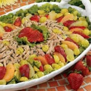 Grapefruit Pork Salad
