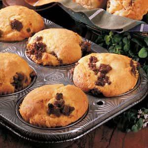 Barbecued Corn Muffins