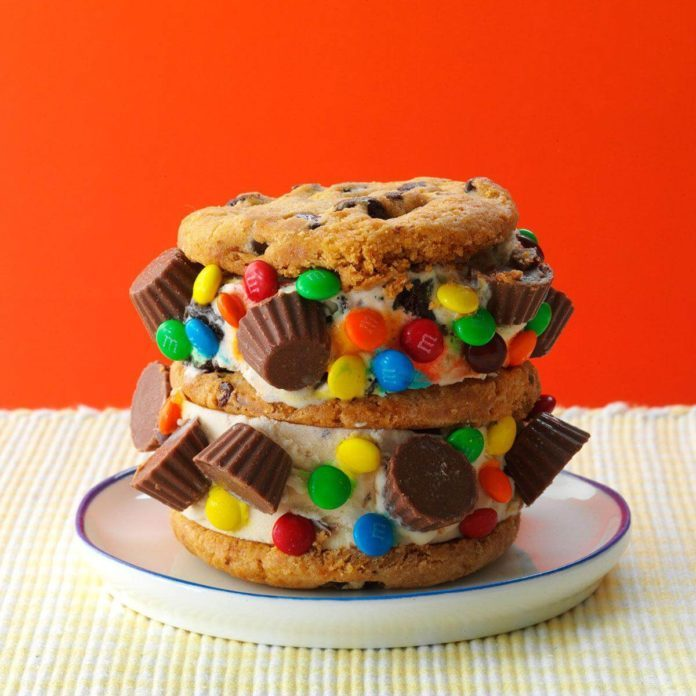 Candy Craze Ice Cream Sandwiches