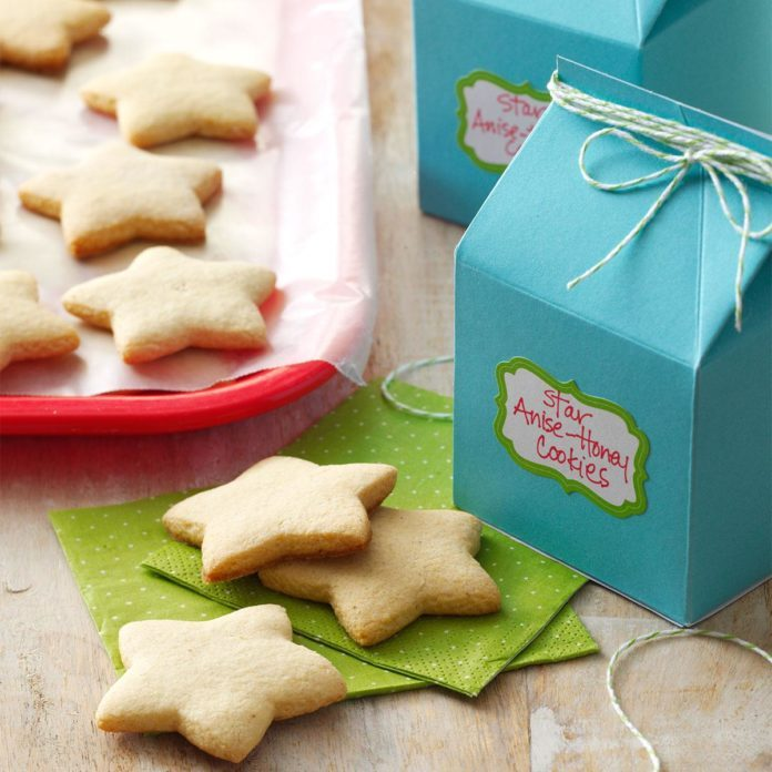 Star Anise-Honey Cookies