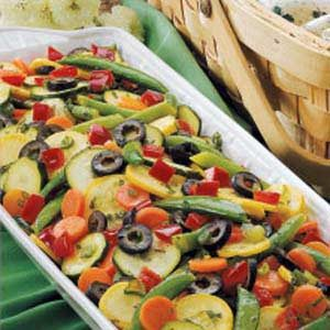 Colorful Summer Veggie Salad