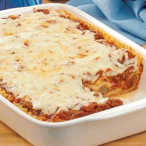 Homemade Meatball Lasagna