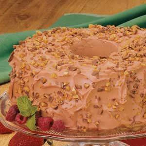 Mocha Angel Food Torte