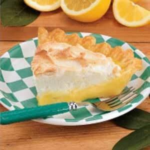 Very Lemony Meringue Pie
