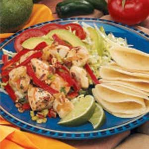 Marinated Chicken Fajita Salad