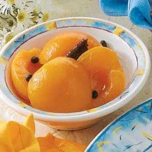 Spiced Apricots
