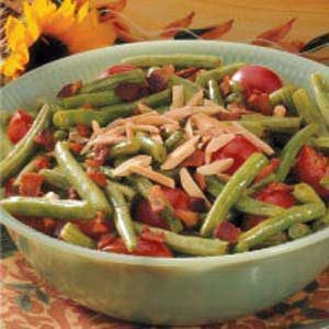 Beans with Cherry Tomatoes