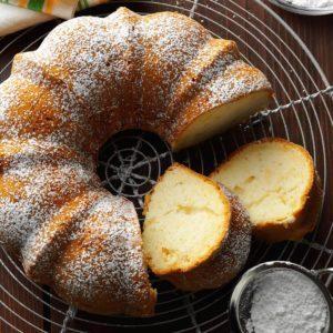 Pear Bundt Cake