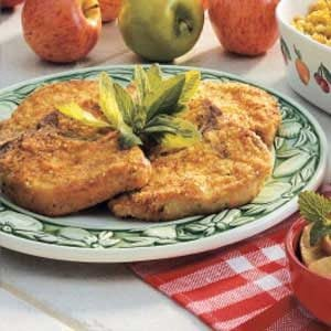 Breaded Dijon Pork Chops