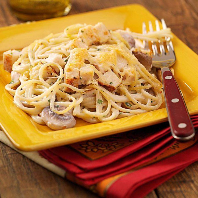 Chicken tetrazzini taste of home chicken tetrazzini recipe photo by taste of home forumfinder Image collections