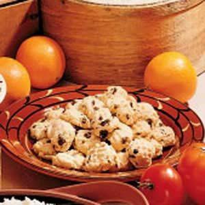 Diabetic Orange Cookies