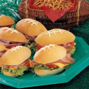 Pigskin Sandwiches