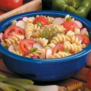 Tangy Vegetable Pasta Salad