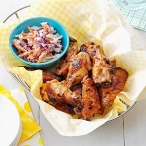 Gingered Sweet & Spicy Hot Wings