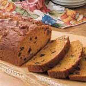 Whole Wheat Pumpkin Nut Bread