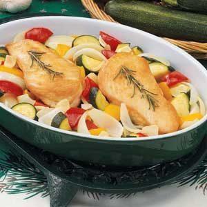 Rosemary-Garlic Chicken and Veggies