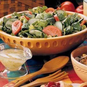 Tossed Salad with Lime Vinaigrette