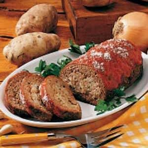 Meat Loaf Potato Surprise