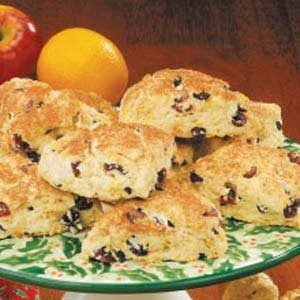 Cranberry Buttermilk Scones