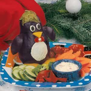 Penguin Veggie Platter