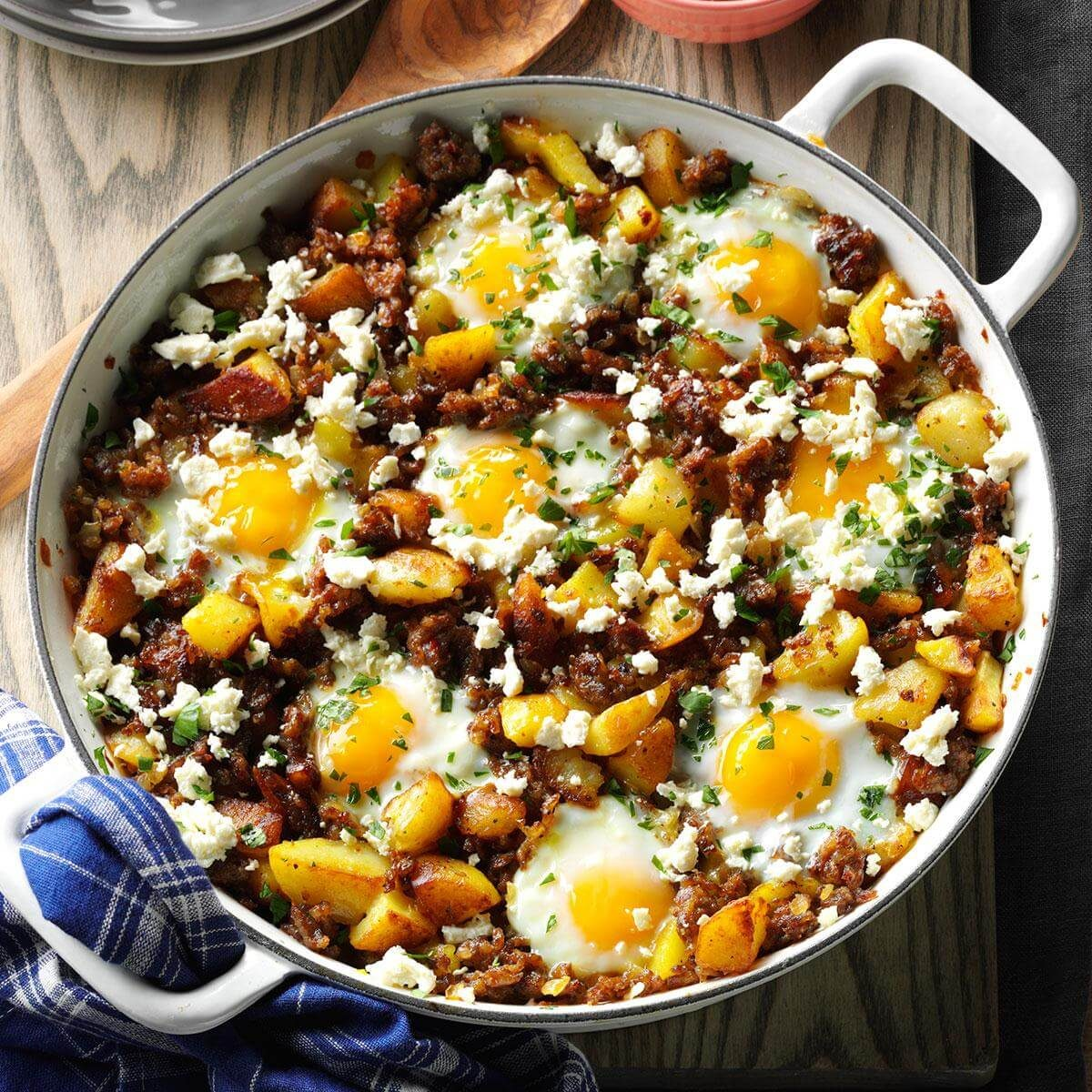 Brunch Hash & Egg Bake Recipe