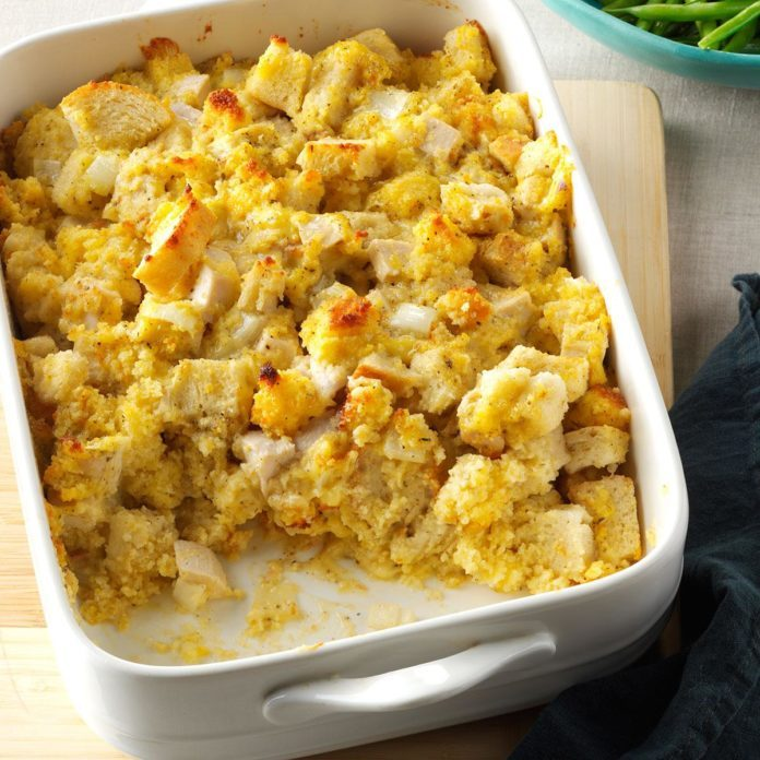 Corn Bread Chicken Bake