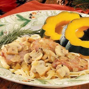 Mushroom Pork Scallopini