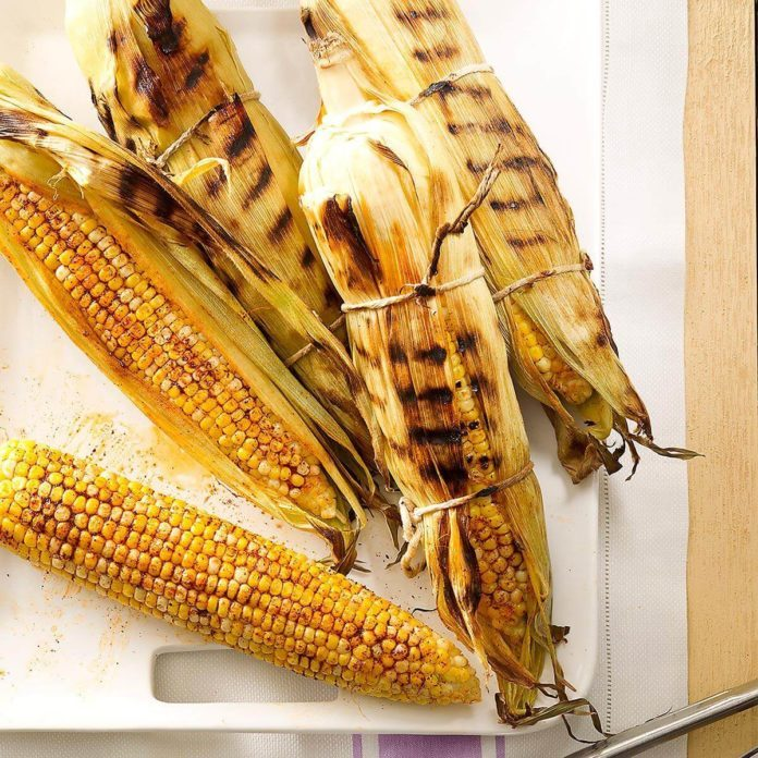Smoky Grilled Corn on the Cob
