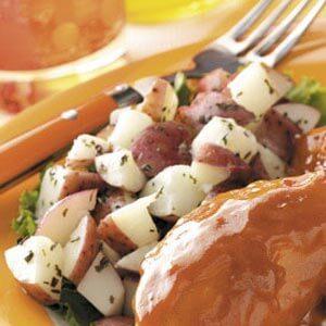 Minty Picnic Potato Salad