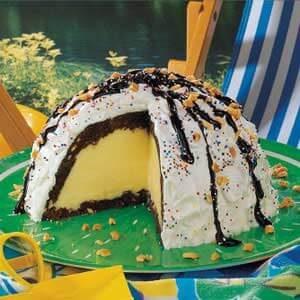 Ice Cream Brownie Mountain