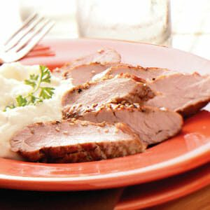 Honey-Dijon Pork Tenderloin