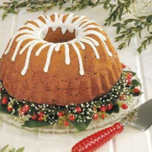 Pumpkin Gingerbread Bundt Coffee Cake