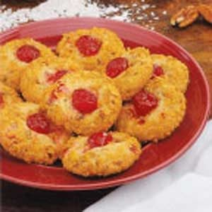 Cherry Crunch Cookies