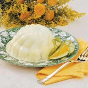 Tangy Cucumber Gelatin