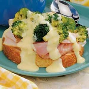 Open-Faced Sandwich Supreme