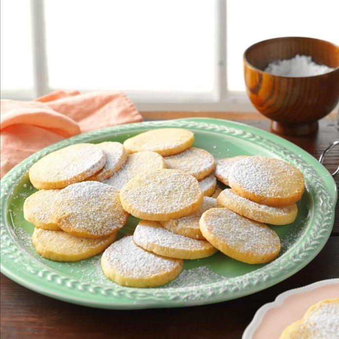 Honey Lime Almond Cookies