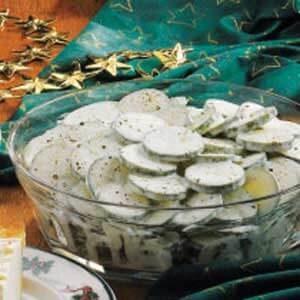 Easy Cucumbers in Cream