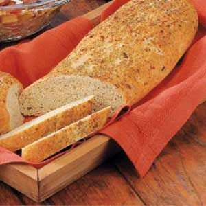 Herb-Crusted Bread