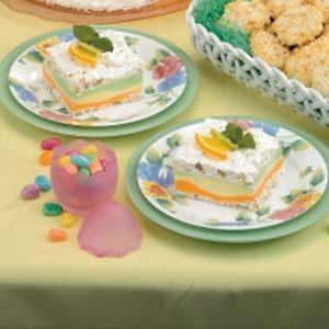 Triple Sherbet Dessert